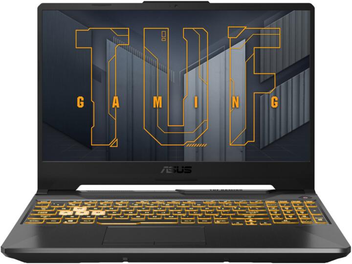 ASUS TUF Gaming F15 (2021), šedá