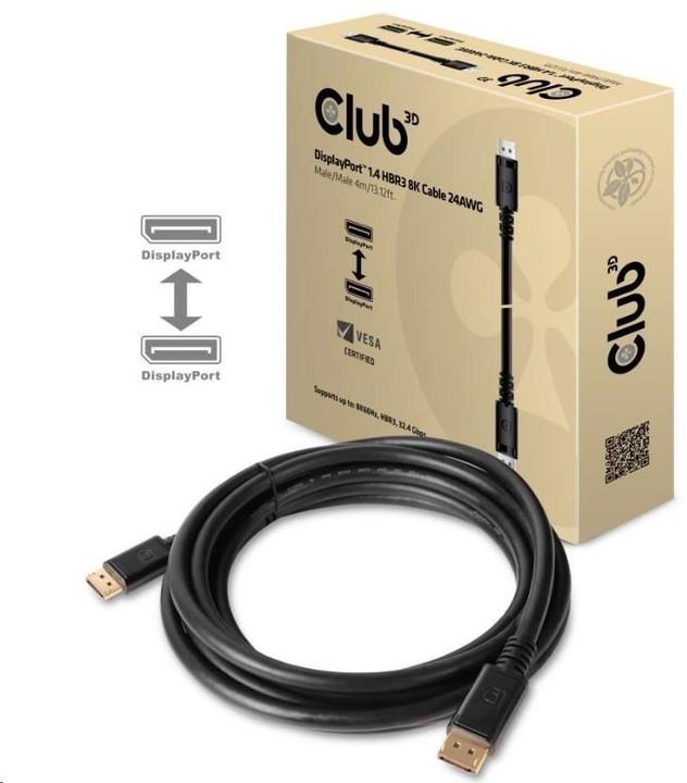 Club3D DisplayPort 1.4 HBR3, 4m