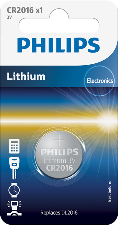 Philips CR2016 - 1ks