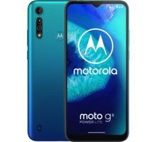Motorola Moto G8 Power Lite, 4GB/64GB, Arctic Blue - MOTOG8PWRLITEWH