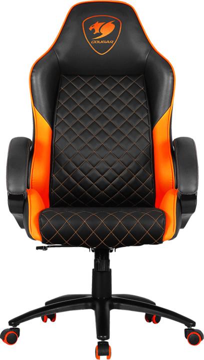 Cougar Fusion, černá/oranžová