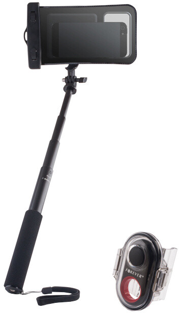 Forever PMP-04 selfie s bluetooth externím ovládacím tlačítkem, voděodolná
