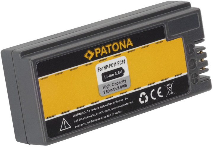 Patona baterie pro Sony NP-FC10/11 780mAh