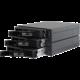 Chieftec interní box 2x5.25inch bays pro 3x3.5/2.5inch HDDs/SSDs, hliník