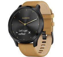 Garmin vívomove Optic Premium Black, Tan band - 010-01850-00