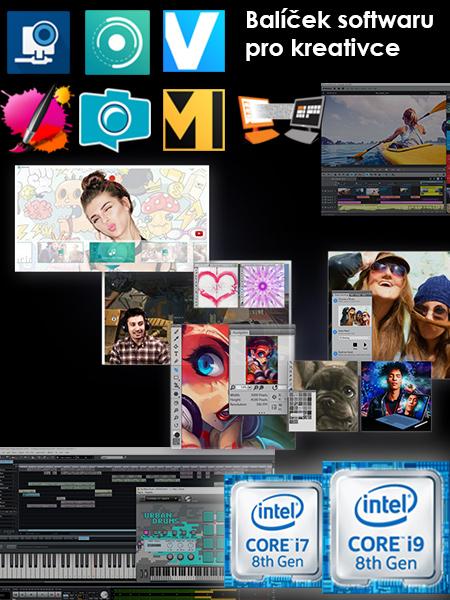 Intel MSI Creatorpack v hodnotě 10.000,- Kč