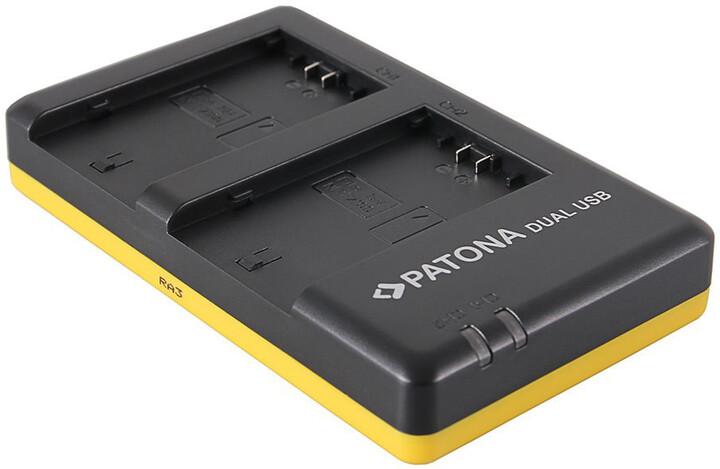 Patona foto nabíječka Dual Quick kompatibilní se Sony NP-FZ100 USB