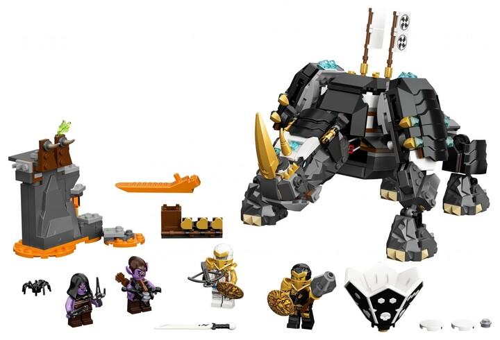 LEGO Ninjago 71719 Zaneův nindžorožec