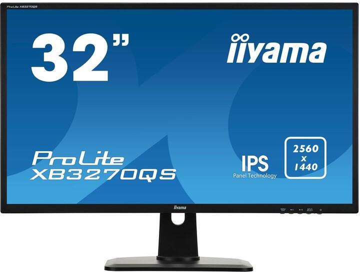 "iiyama ProLite XB3270QS-B1 - LED monitor 32"""