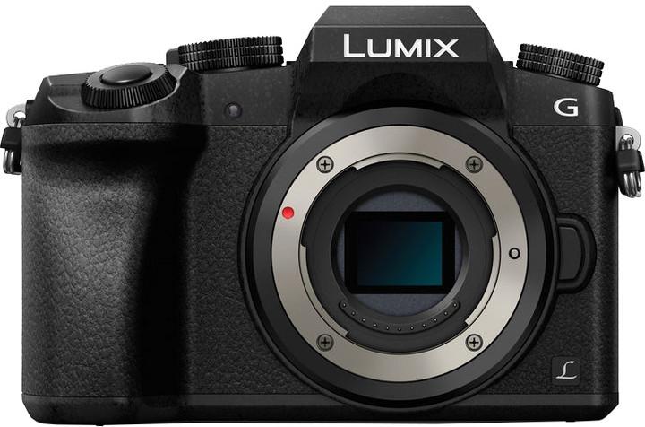 Panasonic Lumix DMC-G7, tělo