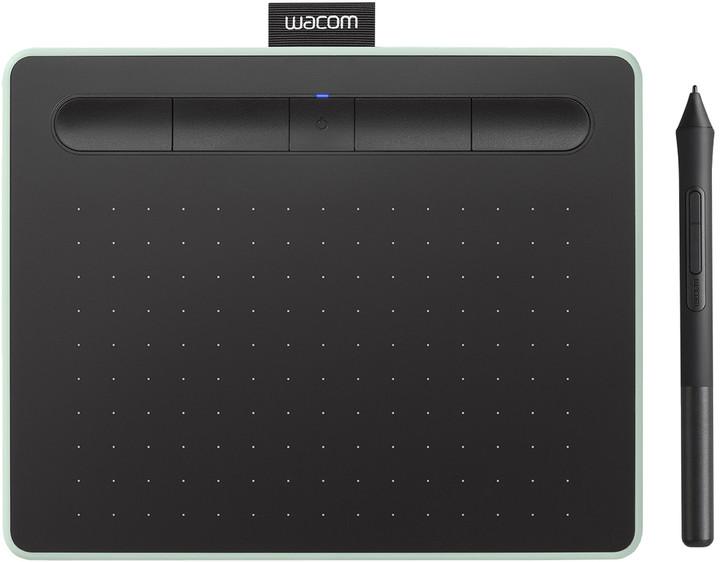 Wacom Intuos S Bluetooth, pistáciová