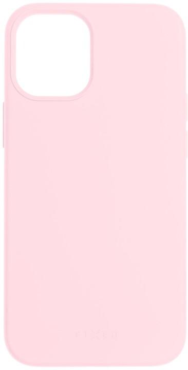 FIXED silikonový kryt Flow pro Apple iPhone 12 mini, růžová