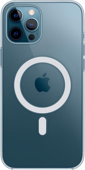 Apple kryt Clear Case s MagSafe pro iPhone 12 Pro Max, transparentní