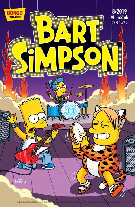 Komiks Bart Simpson, 8/2019