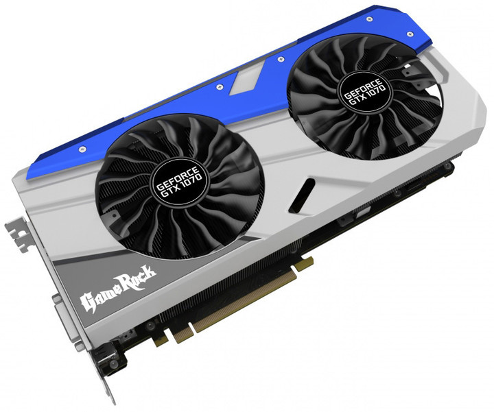 PALiT GeForce GTX 1070 GameRock, 8GB GDDR5