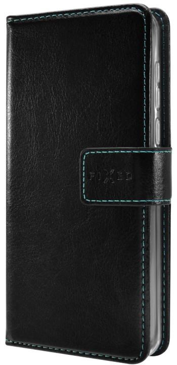 FIXED Opus pouzdro typu kniha pro Samsung Galaxy J7 (2017), černé