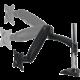 """Arctic Cooling Z1 3D stolní držák pro LCD do 32"""", USB 3.0 HUB, černý"""