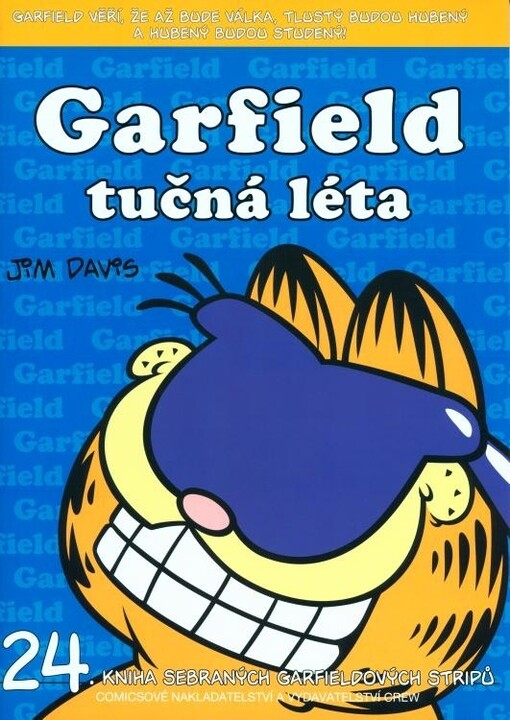 Komiks Garfield tučná léta, 24.díl
