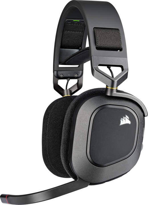 Corsair HS80 RGB Wireless, černá