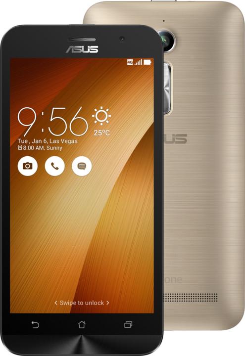 ASUS ZenFone GO ZB500KL-3G044WW, zlatá