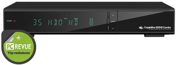 AB CryptoBox 652HD Combo