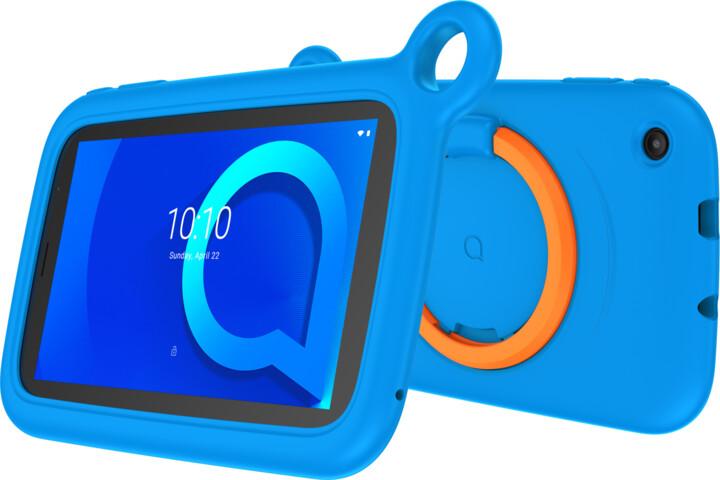 Alcatel 1T 7 2019 KIDS, 1GB/16GB, Blue bumper case