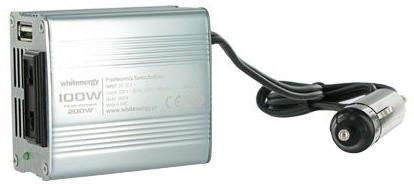 Whitenergy měnič napětí AC/DC, 12V/230V, 100W