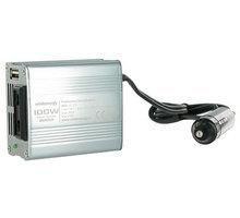 Whitenergy měnič napětí AC/DC, 12V/230V, 100W - 06574