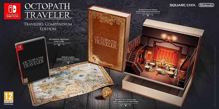 Octopath Traveler - Traveler's Compendium Edition (SWITCH)