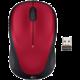 Logitech Wireless Mouse M235, červená