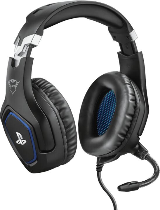 Trust GXT 488 Forze, černá/modrá