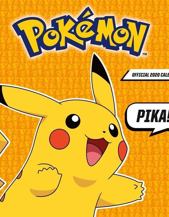 Kalendář Pokémon 2020