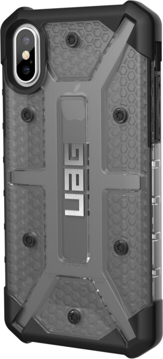 UAG plasma case Ash - iPhone X, smoke
