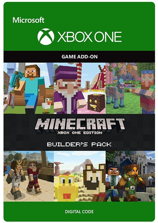Minecraft: Xbox One Edition: Builder's Pack (Xbox ONE) - elektronicky