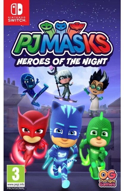 PJ Masks: Heroes of the Night (SWITCH)