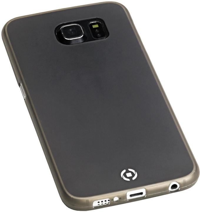 CELLY Frost tenké pouzdro pro Samsung Galaxy S6 Edge, TPU, 0,29mm - černá