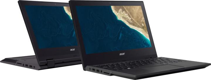 Acer TravelMate Spin B1 (TMB118-RN-C3YZ), černá