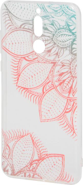 EPICO Pružný plastový kryt pro Huawei Mate 10 Lite FLOWER MANDALA
