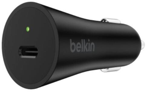 Belkin USB-C nabíječka do auta 27W Power delivery - černá