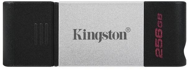 Kingston DataTraveler 80 - 256GB, černá/stříbrná