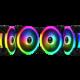 GAMDIAS AEOLUS M2-1204R, RGB, 120mm
