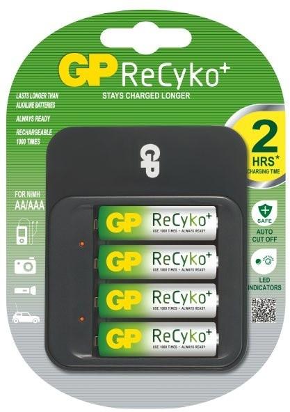 GP Power Bank 550 + 4x AA Recyko+ 2100 mAh