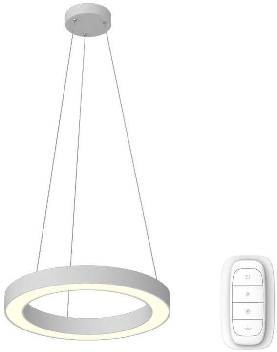 IMMAX NEO PASTEL Smart závěsné svítidlo 60cm 52W bílé Zigbee 3.0
