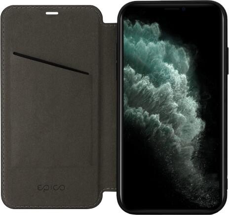 EPICO flipové pouzdro s magnetic closure iPhone 11 Pro, černá