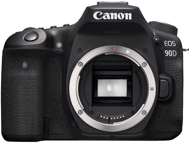 Canon EOS 90D, tělo