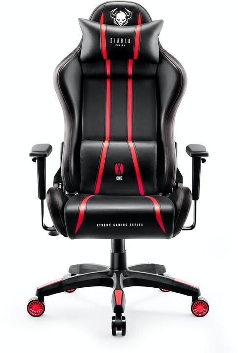 Diablo X-One 2.0, XL, černá/červená