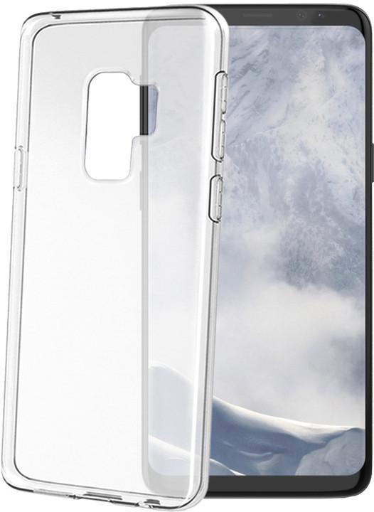 CELLY Gelskin TPU pouzdro pro Samsung Galaxy S9 Plus, bezbarvé