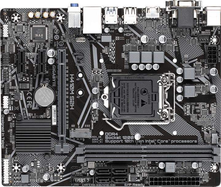 GIGABYTE H410M S2H - Intel H410