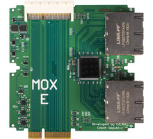 Turris MOX E Module - Super Ethernet modul, 8x100/1000