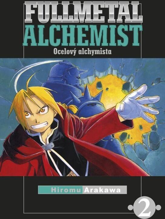 Komiks Fullmetal Alchemist - Ocelový alchymista, 2.díl, manga